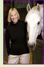 Sandra Gulland and horse