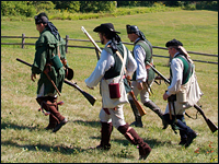 American Revolution reenactment