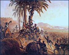 Battle on Santo Domingo by January Suchodolski