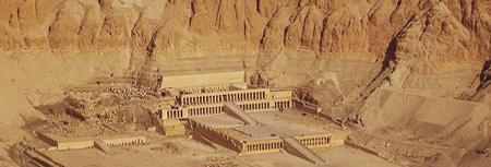 Hatshepsut temple at Deir el-Bahri