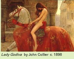 Lady Godiva by John Collier c. 1898