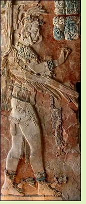 Mayan relief sculpture