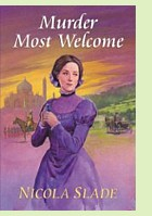 Murder Most Welcome by Nicola Slade, book cover