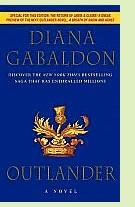 Outlander by Diana Gabaldon, book cover