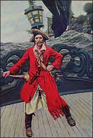 Pirate Captain by Howard Pyle