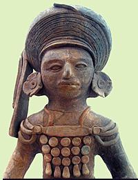 Prehistoric Mayan Sculpture