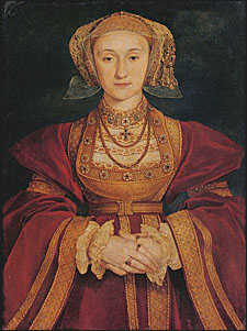Anne of Cleves portrait by Holbein