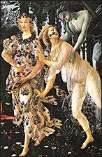 Botticelli's Primavera (detail)
