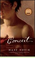 Conceit by Mary Novik, book cover