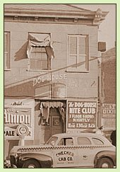 Dog House Nite Club, New Orleans, 1940s