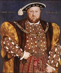 King Henry VIII by Hans Holbein