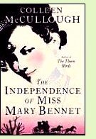 The Independence of Miss Mary Bennet by Colleen McCullough, book cover