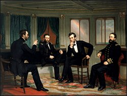 President Lincoln and Union Generals