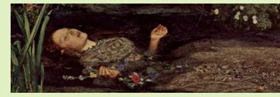 Ophelia, Millais, Siddal