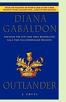 Outlander by Diana Gabaldon, book cover