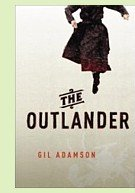 The Outlander by Gil Adamson, book cover