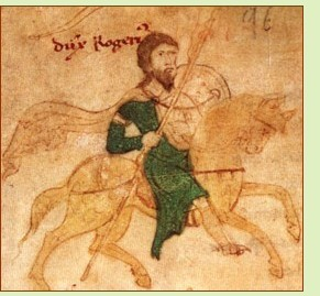 King Roger II of Sicily