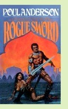 Rogue Sword by Poul Anderson, book cover