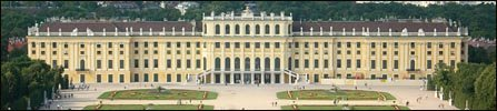 The Schönbrunn Palace in Vienna