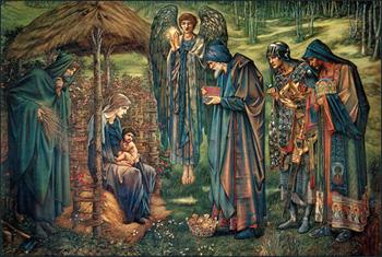 Star of Bethlehem by Burne-Jones