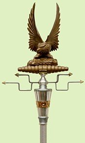 reproduction Roman Eagle Standard