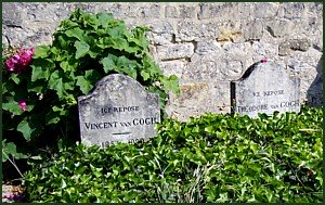 Graves of Vincent and Theodore van Gogh