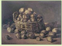 Basket of Potatoes by Van Gogh
