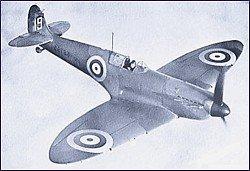 WWII Aircraft, British Spitfire