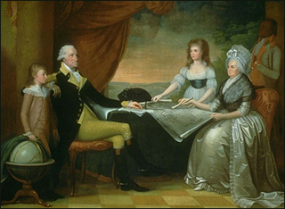 George Washington and his Family